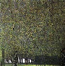 Gustav Klimt : The Park 1910 : $345
