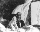 Edward Hopper : The Evening Wind 1921 Sketch on Paper : $369