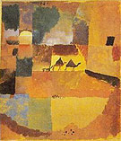 Paul Klee : Two Camels and Dromedary : $345