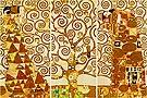 Gustav Klimt : L Albero Della Vita (3 canvases) : $495