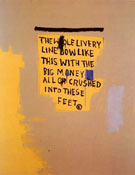 Jean-Michel-Basquiat : The Whole Livery Line 1987 : $409