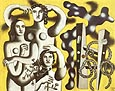 Fernand Leger : Composition with Three Figures  1932 : $339