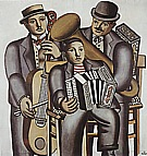 Fernand Leger : Three Musicians  1930 : $369