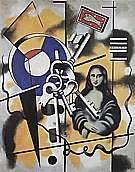Fernand Leger : Mona Lisa with Keys  1930 : $369