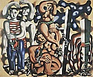 Fernand Leger : Composition with Two Parrots  1935-39 : $345