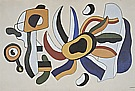 Fernand Leger : Polychrome Flower 1936 : $369