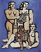 Fernand Leger : Three Sisters  1952 : $395