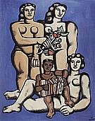 Fernand Leger : Three Sisters  1952 : $395