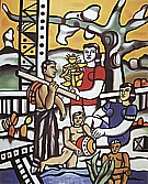 Fernand Leger : The Campers 1954 : $395