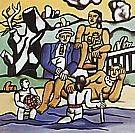 Fernand Leger : The Country Outing 1  1954 : $345