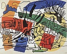 Fernand Leger : The Country Outing 2  1954 : $335