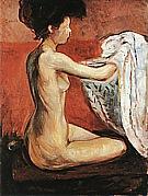 Edvard Munch : Paris Nude  1896 : $345