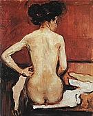 Edvard Munch : Nude  1896 : $365