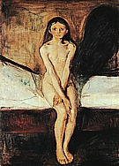 Edvard Munch : Puberty : $369