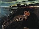 Edvard Munch : Melancholy  1894-95 : $345