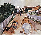Edvard Munch : Street in Asgardstrand  1902 : $389