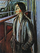 Edvard Munch : Woman on the Verandah  1924 : $369