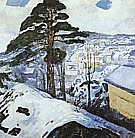 Edvard Munch : Winter Kragero  1912 : $369