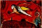Marc Chagall : Le Cantique des Cantiques IV : $389
