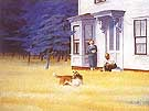 Edward Hopper : Cape Cod Evening : $339