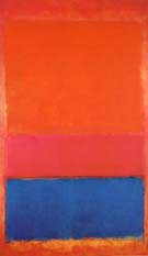 Mark Rothko : No 1Untitled Royal Red and Blue 1954 : $389
