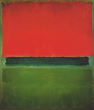 Mark Rothko Red Dark Green Green 1952 Reproduction Oil