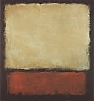 Mark Rothko : No 7 1963 Dark Brown Gray Orange : $369
