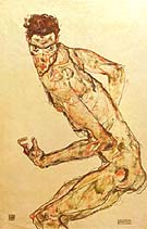 Egon Schiele : Fighter 1913 : $339