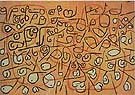 Paul Klee : Composition With Fruit : $345