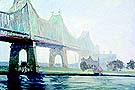 Edward Hopper : Queensborough Bridge 1913 : $369