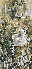 Georges Braque : Piano and Mandola Winter  : $369