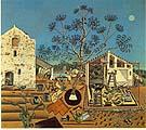 Joan Miro : The Farm : $415