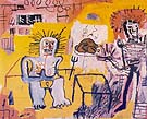Jean-Michel-Basquiat : Arroz Con Pollo 1981 : $379
