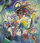 Wassily Kandinsky : Red Square 1916 : $379
