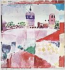 Paul Klee : Hammamet with Mosque  1914 : $369