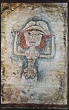 Paul Klee : The Singer L. as Fiordiligi  1923 : $369