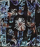 Paul Klee : Still Life with Thistle Flower  1919 : $345