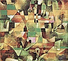 Paul Klee : Landscape with Yellow Church Tower  1920 : $369