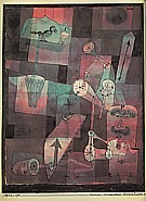Paul Klee : Analysis of Various Perversities  1922 : $375