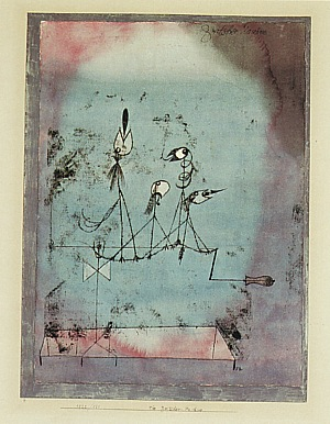 Twittering Machine >> Paul Klee Twittering Machine 1922 - Reproduction Oil Paintings