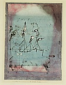 Paul Klee : Twittering Machine  1922 : $369