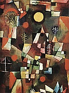 Paul Klee : Full Moon  1919 : $405