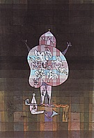 Paul Klee : Ventriloquist and Crier in the Moor  1923 : $369