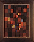 Paul Klee : Pictorial Architecture Red Yellow Blue  1923 : $375