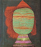 Paul Klee : Actor's Mask  1924 : $345