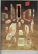 Paul Klee : Uncomposed Objects in Space  1929 : $369
