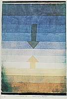 Paul Klee : Seperation in the Evening  1922 : $369