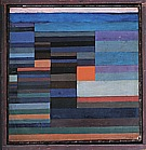 Paul Klee : Fire in the Evening  1929 : $375
