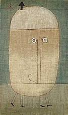 Paul Klee : Mask of Fear  1932 : $345