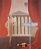 Magritte : The Blue Cinema 1925 : $345